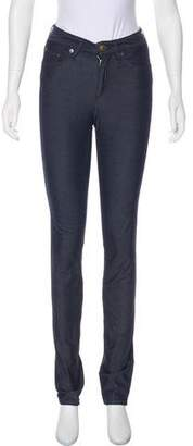 Rag & Bone Mid-Rise Chambray Jeans