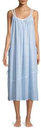 Riviera Celestine Double-Strap Sleeveless Nightgown
