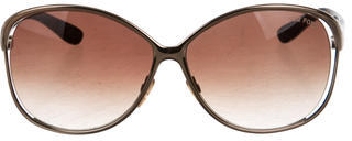 Tom Ford Tom Ford Yvette Oversize Sunglasses