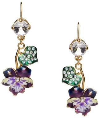 Miu Miu floral dangle earrings