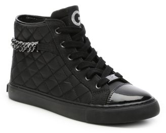 G by GUESS Obay High-Top Sneaker $80 thestylecure.com