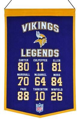Winning Streak Minnesota Vikings Legends Banner