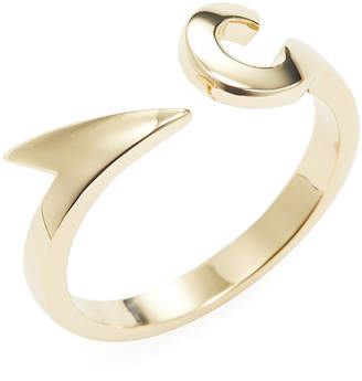 Miansai Wooden Fishhook Wrap Ring