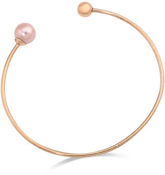 Majorica Imitation Pearl Open Bangle Bracelet