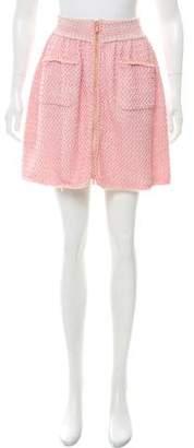 Chanel 2017 Metallic Skirt