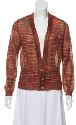 Missoni Striped Mohair-Blend Cardigan