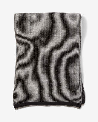 Express Textured Stripe Scarf