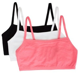 Fruit of the Loom Women's Strappy Sports Bra, Style 9036, 3-Pack