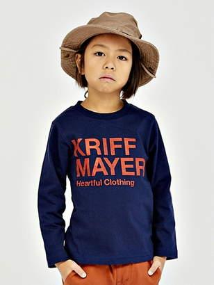 Kriff Mayer (クリフ メイヤー) - KRIFF MAYER (K)ブランドロゴロンTEE クリフメイヤー カットソー