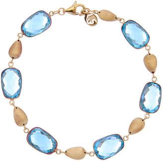 Effy Fine Jewelry 14K 29.00 Ct. Tw. Blue Topaz Bracelet
