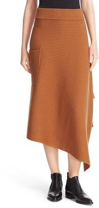 Women's Tibi Ribbed Origami Wrap Skirt $450 thestylecure.com