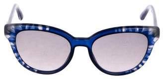 Christian Dior Tinted Round Sunglasses
