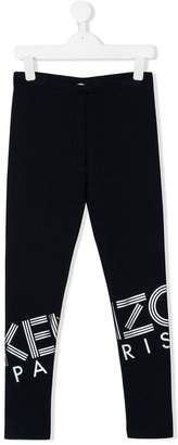 Kenzo logo fitted trousers