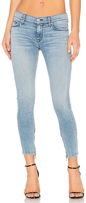 Hudson Jeans Nico Ankle Zip Super Skinny $215 thestylecure.com