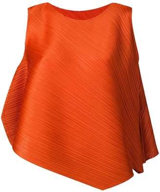 Pleats Please Issey Miyake pleated blouse