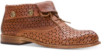 Patricia Nash Sabrina Perforated Ankle Booties Women Shoes