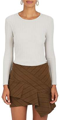 Simon Miller Women's Devola Rib-Knit T-Shirt