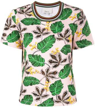3.1 Phillip Lim leaf print T-shirt