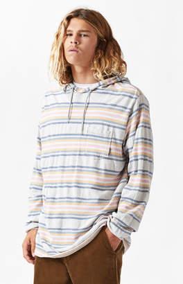 Billabong Flecker Baja Stripe Lightweight Pullover Hoodie