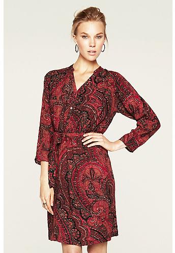 Lucky Brand Oriental Rug Shirt Dress*