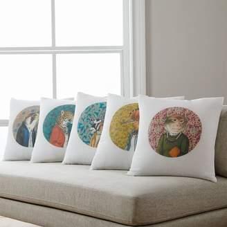 west elm Dapper Animal Pillow Covers - Fall