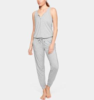 Under Armour Women's Athlete Recovery Sleepwear Ultra Comfort Jumpsuit