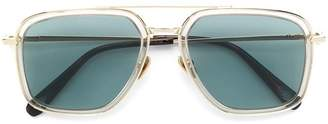 Brioni oversized square-shape sunglasses