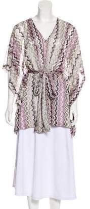 Alexis Chevron Knit Top