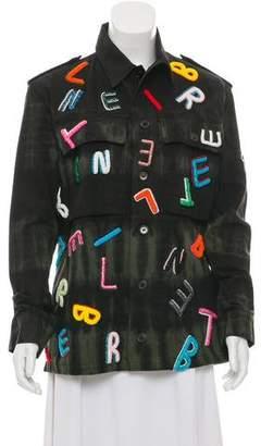 Libertine Embellished Tie-Dye Jacket