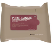 DSCM, Inc Korres Pomegranate Cleansing and DeMake Up Wipes 25 Wipes