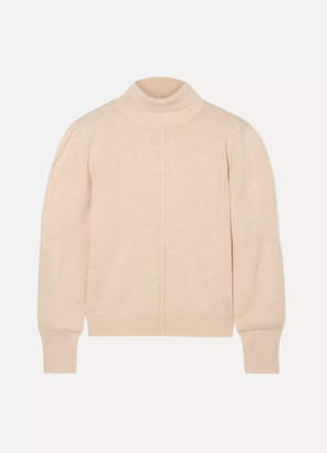 Chloé Cashmere Turtleneck Sweater - Beige