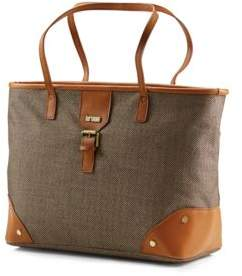 Hartmann Herringbone Luxe Shoulder Bag