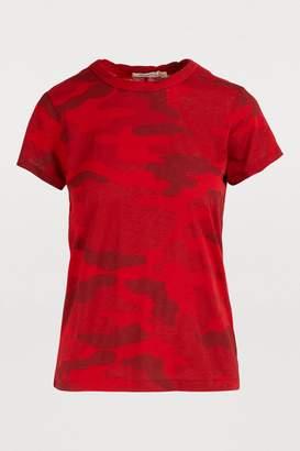 Rag & Bone Camouflage print crewneck T-shirt