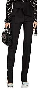 Valentino Women's Wool-Blend Gazar Slim Trousers-Black