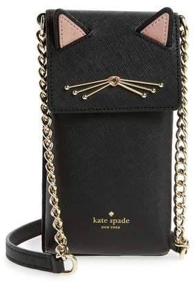 Kate Spade Cat Smartphone Crossbody Bag