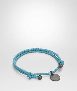 Bottega Veneta Aqua Intrecciato Nappa Bracelet