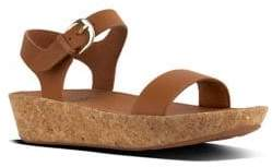 FitFlop BonTM II Leather Ankle-Strap Sandals