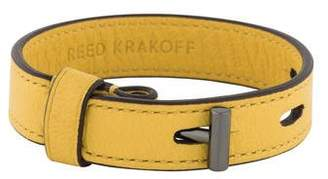 Reed Krakoff T-Pin Leather Bracelet