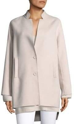 Max Mara Alendo Wool And Angora Coat