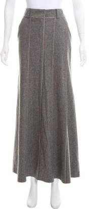 DKNY Wool Maxi Skirt