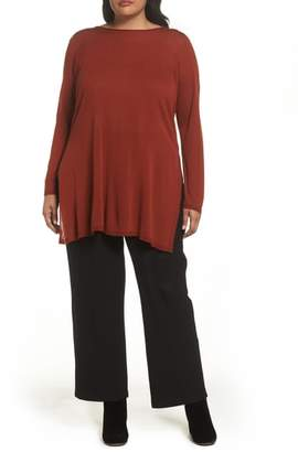 Eileen Fisher Straight Leg Knit Pants