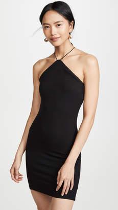 Enza Costa Silk Rib Strappy Halter Dress