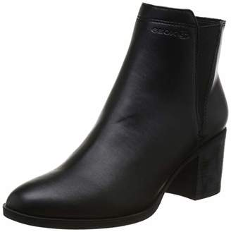 Geox Women's Asheel 1 Zip Ankle Boot