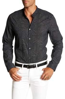 John Varvatos Cross Long Sleeve Slim Fit Shirt