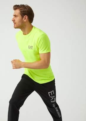 Emporio Armani Ea7 Breathable Ventus 7 Technical Fabric T-Shirt