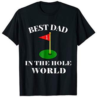 IDEA Best Dad Father's Day 2019 Golf T-Shirt Gift Husband