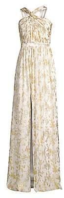 Rachel Zoe Women's Bella Metallic Floral Gown - Size 0