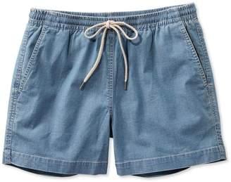 L.L. Bean L.L.Bean Signature Stretch Denim Shorts