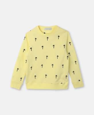 Stella McCartney embroidery pineapple top