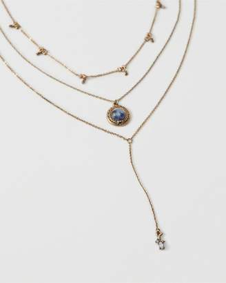 Abercrombie & Fitch Layered Necklace Set